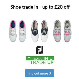 Get up to £20 off ladies' FootJoy shoes when you trade in your old pair